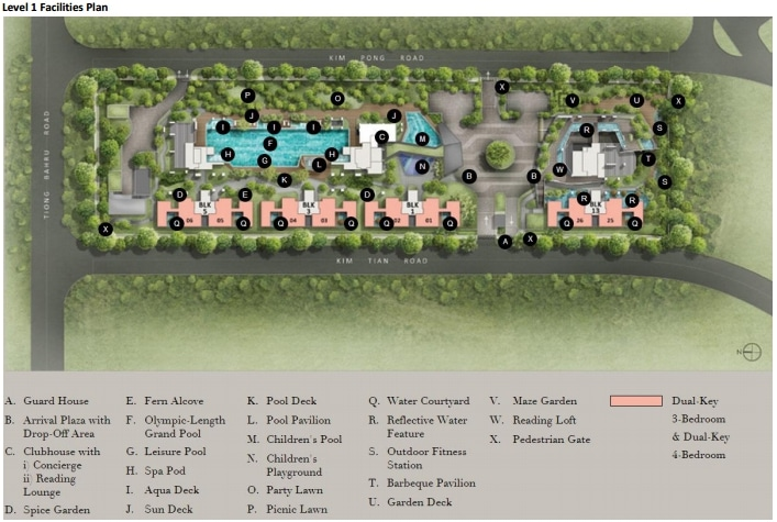 Highline Residences Siteplan 1