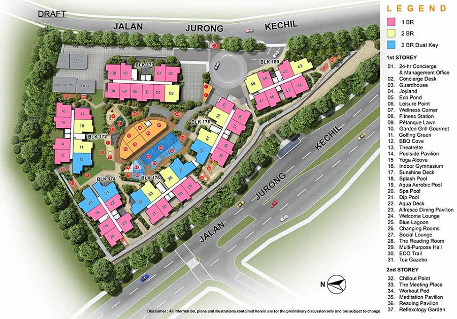 hillsford Site Plan