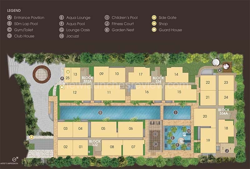 Whitehaven Site Plan