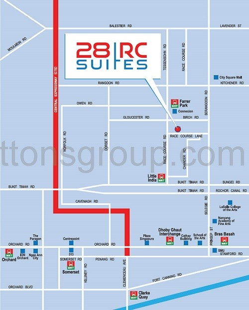 28RC Suites Map