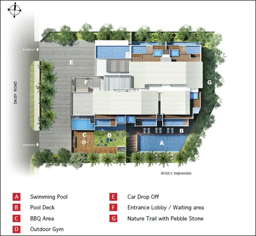 Daisy Suites Site Plan