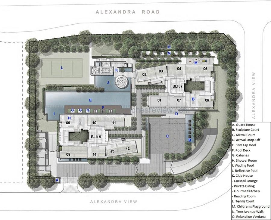 Echelon Site Plan