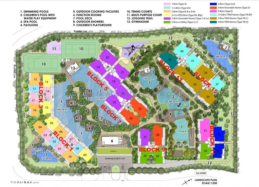 QBay Site Plan