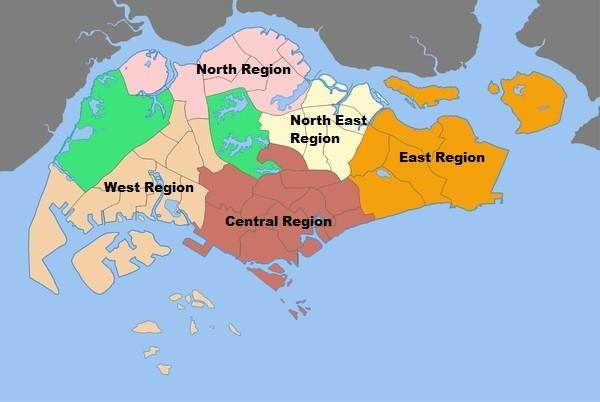 Regions of Singapore