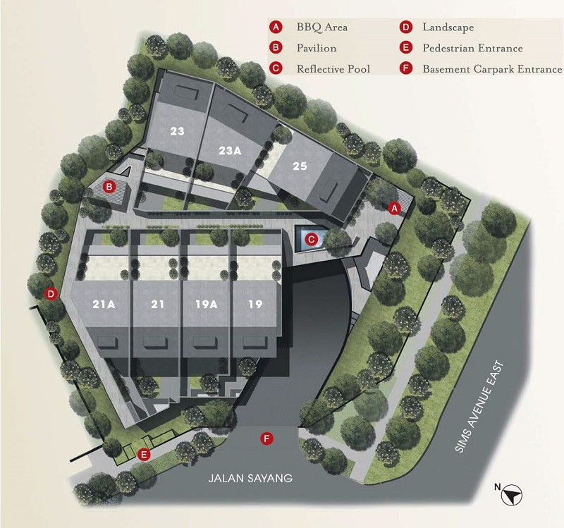 Terra Villas Site Plan