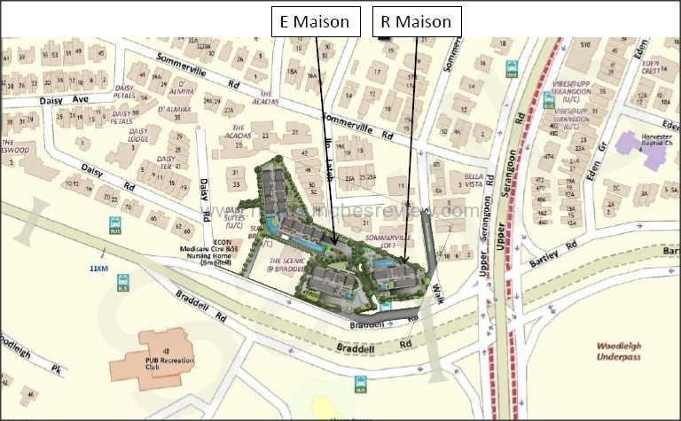 The Maisons Map