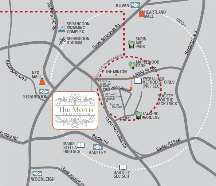 the-morris-residences-location