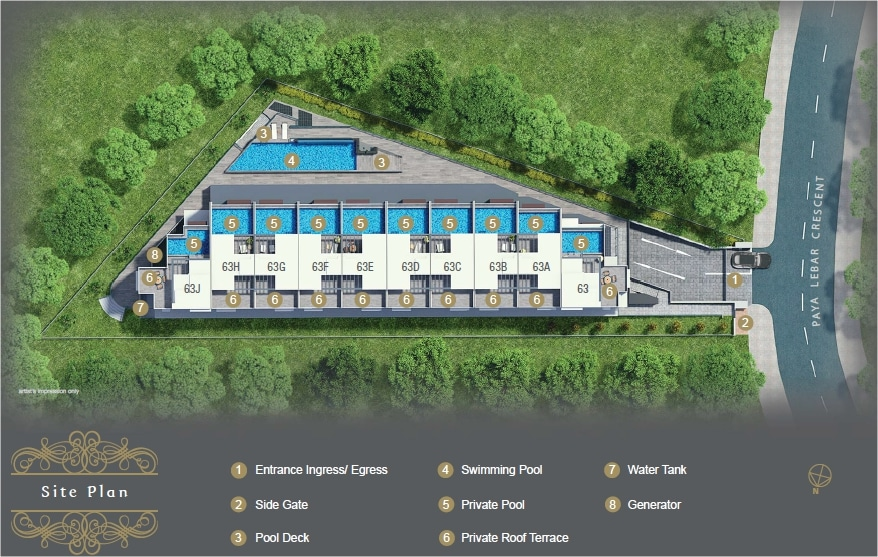 the-morris-residences-site-plan
