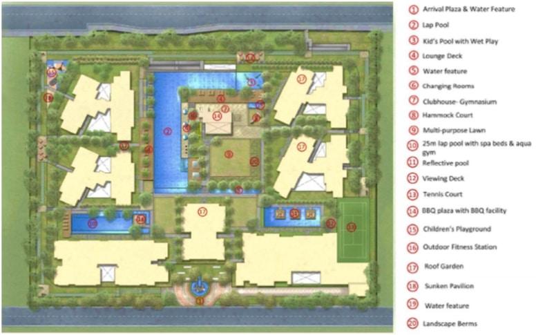 santorini site plan