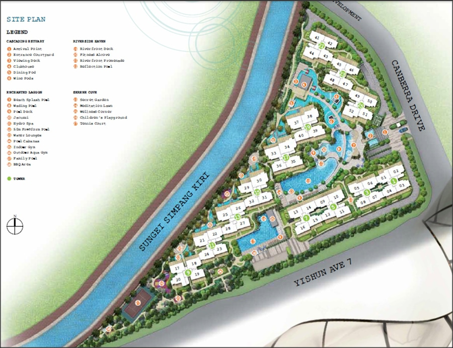 1 Canberra Site Plan