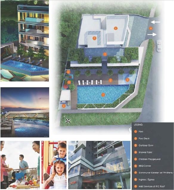 Ascent @ 456 Site Plan