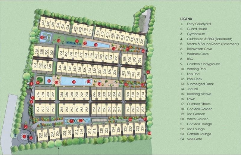 Belgravia Site Plan