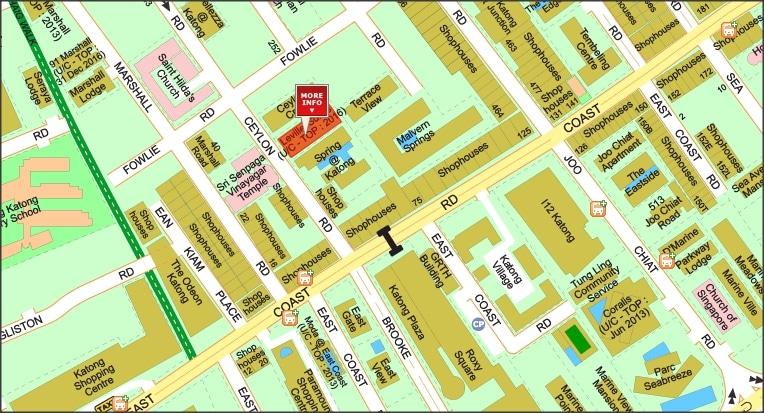 Leville iSuites Map