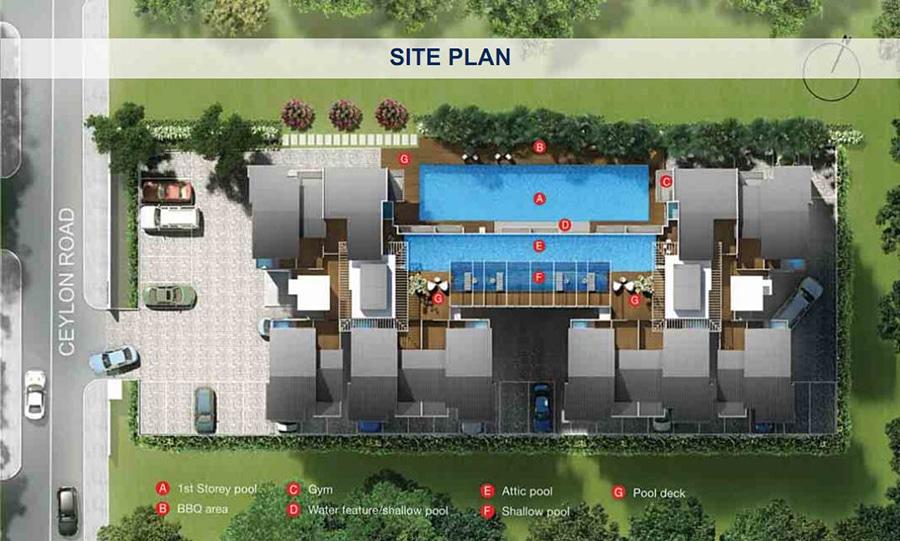 Leville iSuite Site Plan