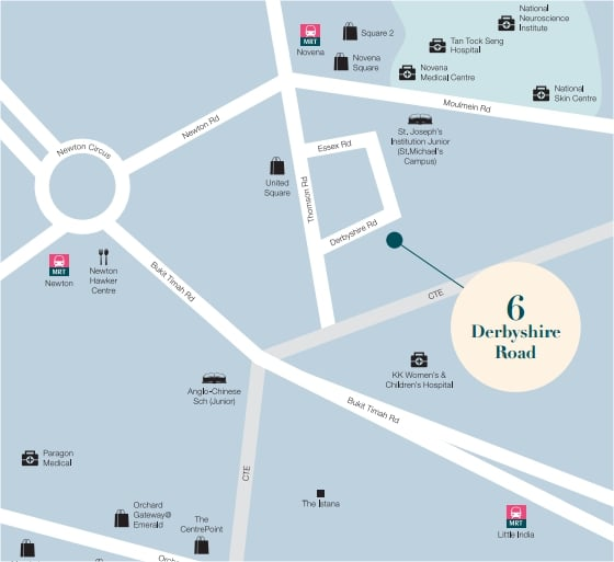 6 derbyshire Map
