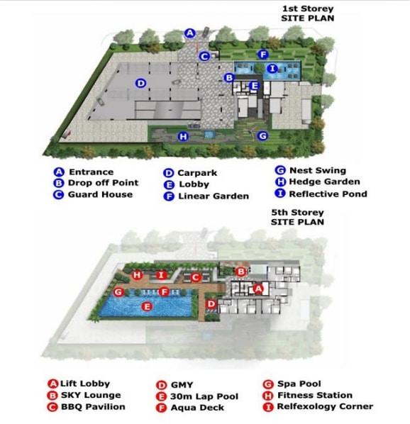 D'Shire Site Plan