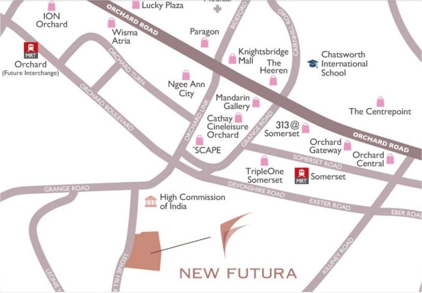New Futura Map
