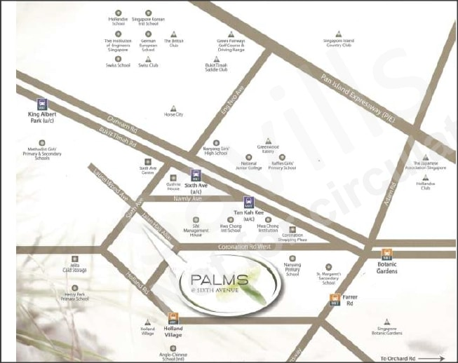 Palms at Sixth Ave Amenities