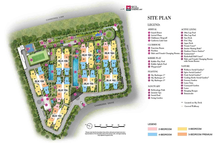 The Brownstone EC Site Plan