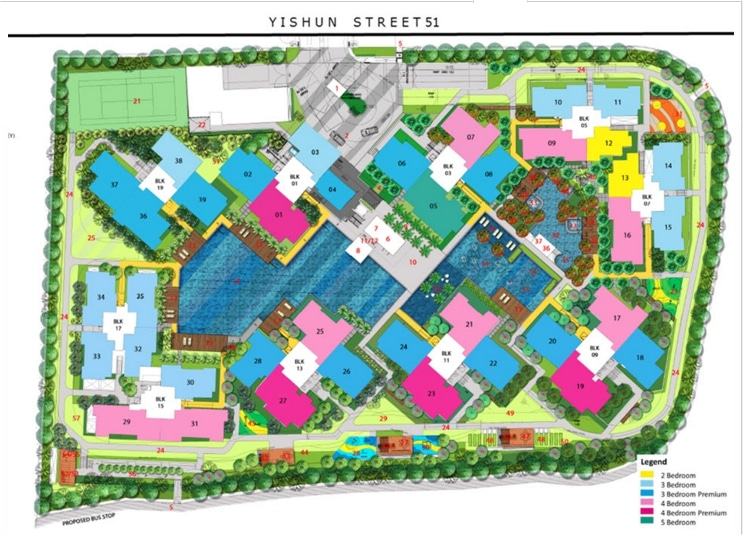 The Criterion EC Site Plan 1