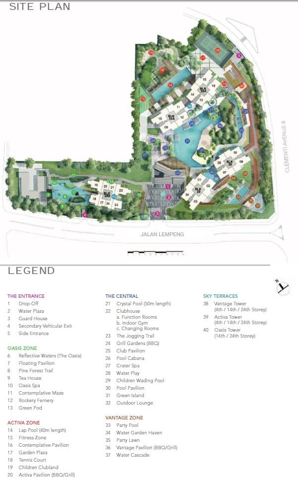 Trilinq Site Plan