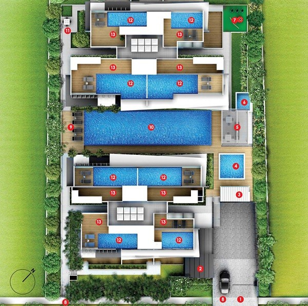 Bently-Residences-SitePlan