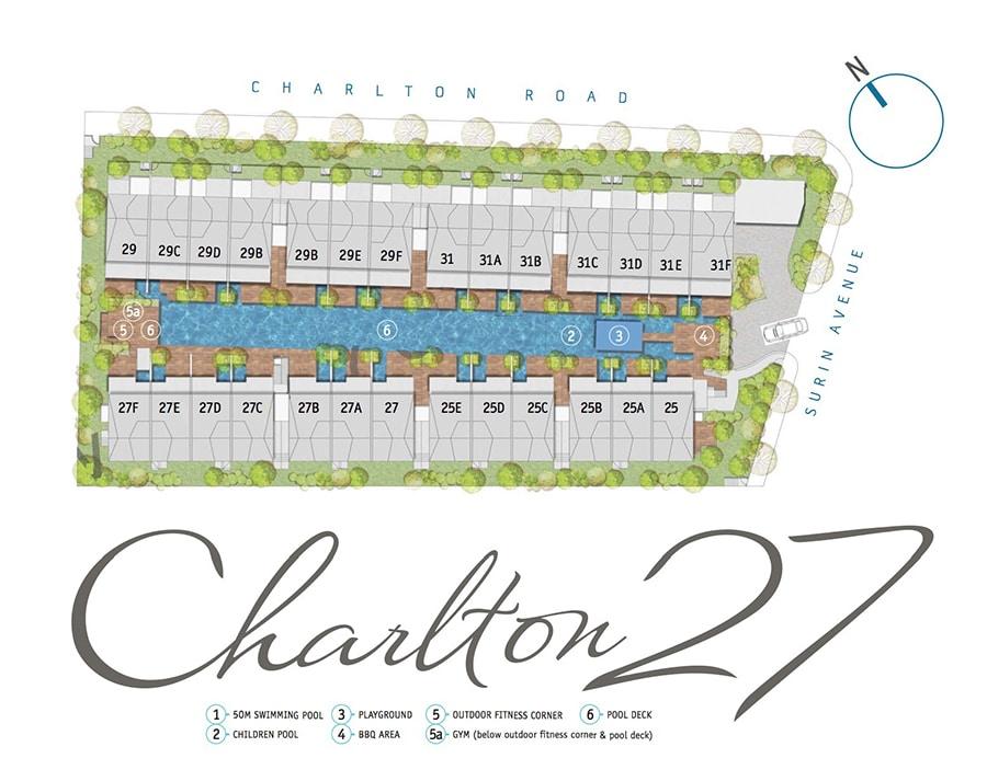Charlton 27 Siteplan