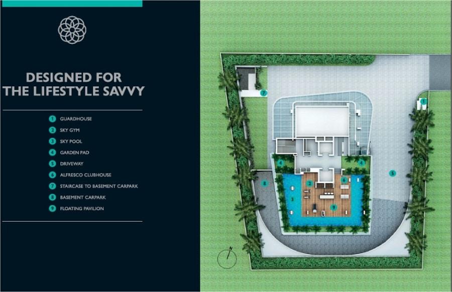 city-suites-site-plan