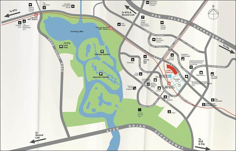 J Gateway Map