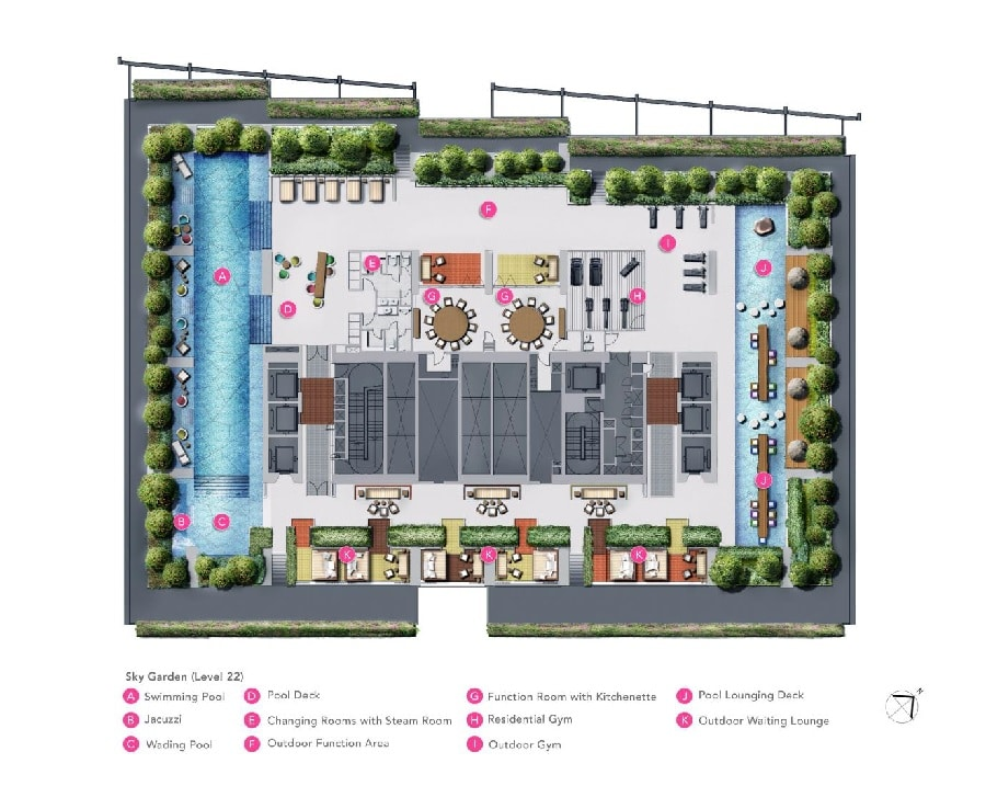 South Beach Residences Site Plan 1