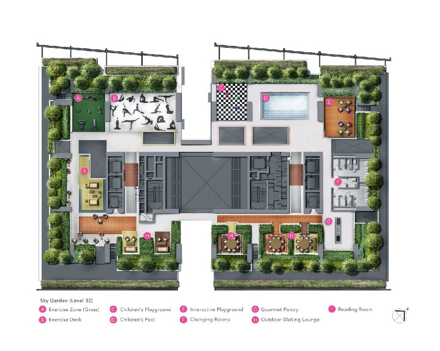 South Beach Residences Site Plan 2