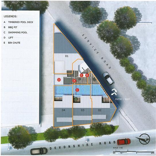 Devonshire 12 Site Plan