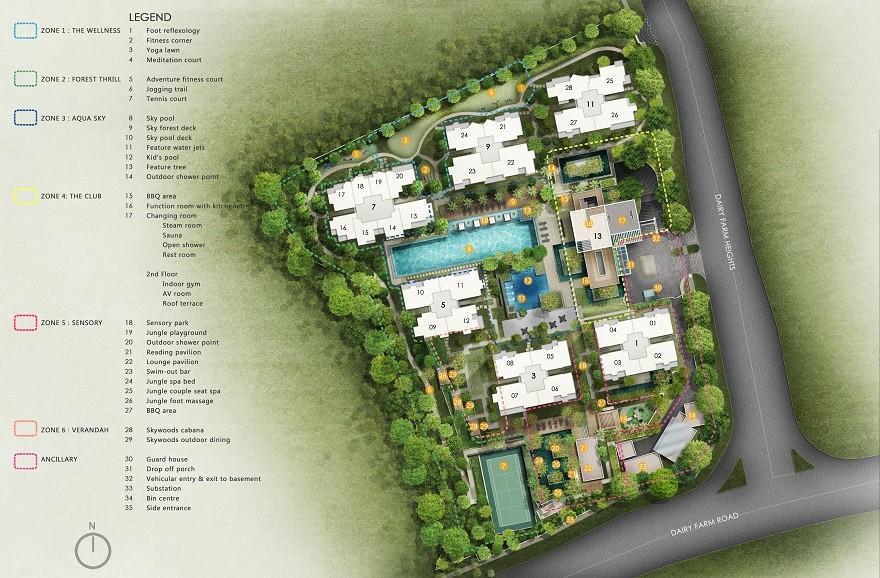 Site Plan Skywoods