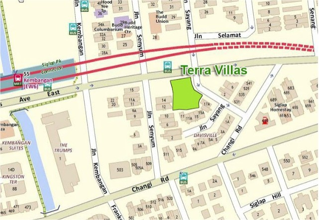 Terra Villas Location