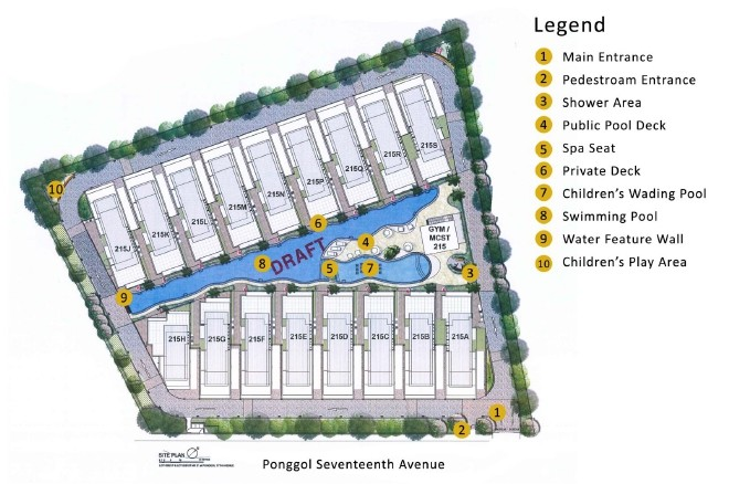 White Cove Site Plan
