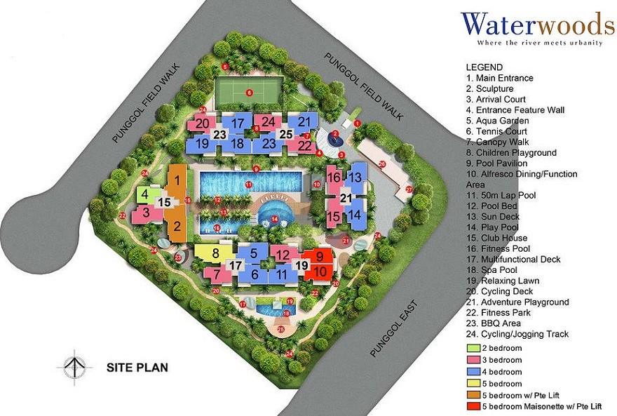 site plan waterwoods