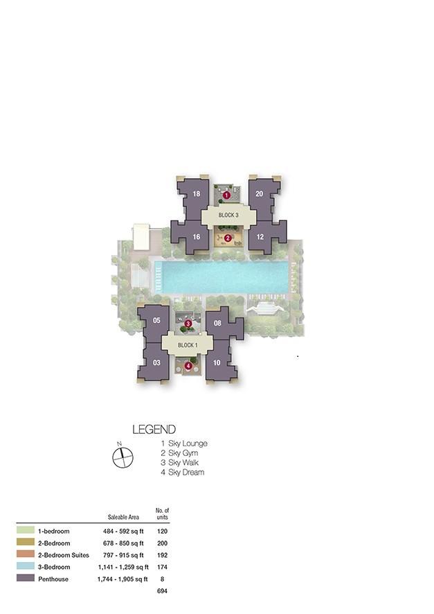 Bishan Site Plan 37th
