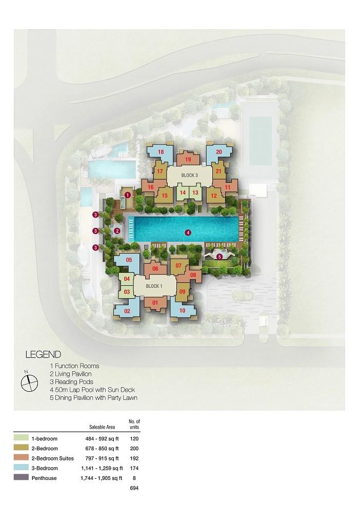 7th flr Site Plan