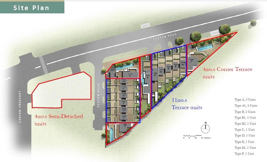 Cashew Green Site Plan 1