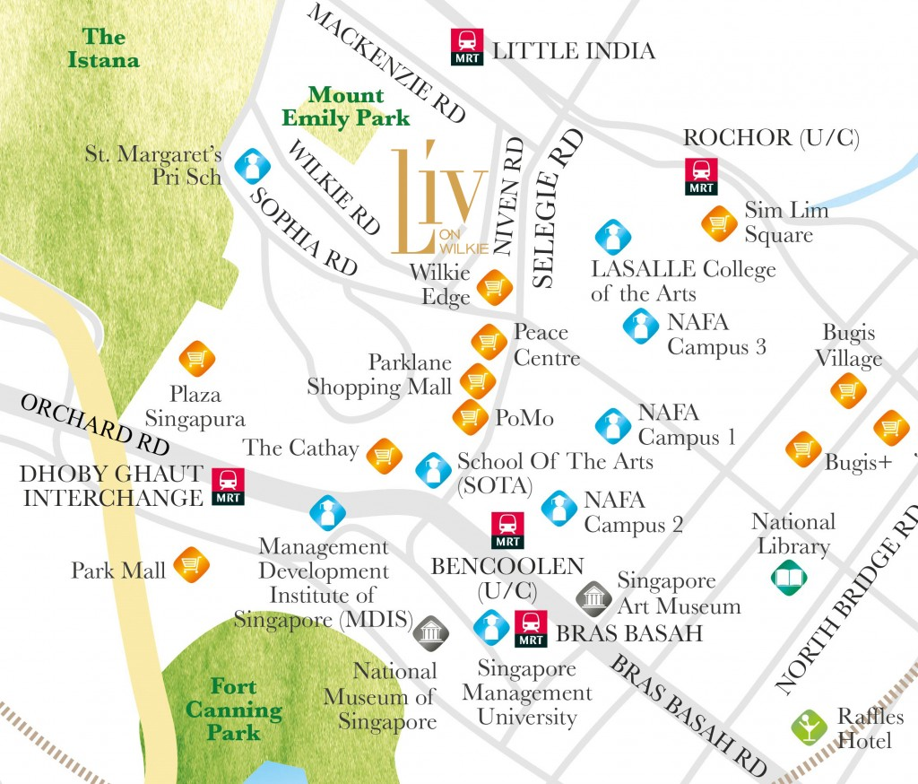 LIV on Wilkie - Location Map2