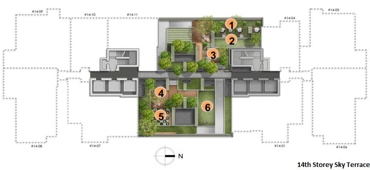 Alex Residences Site Plan 2