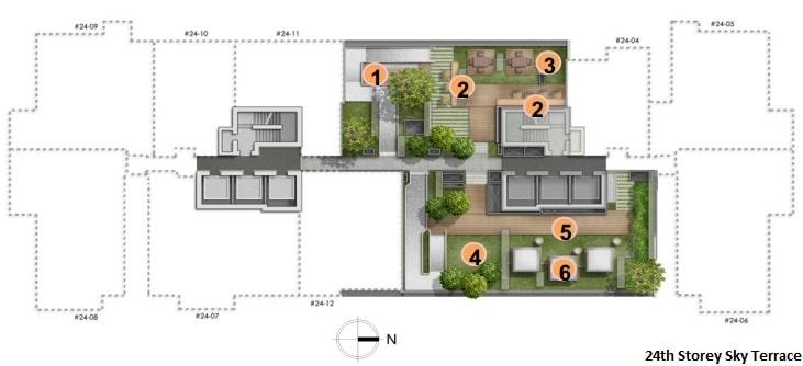 Alex Residences Site Plan 3