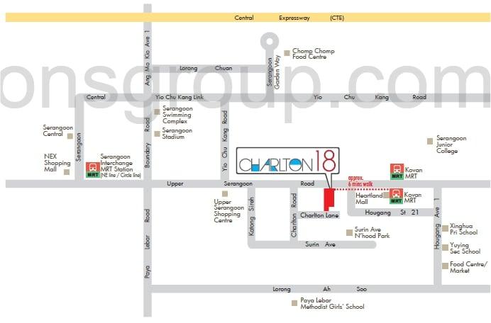 Charlton 18 Map
