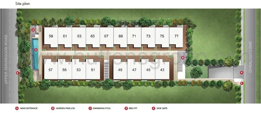 Charlton 18 Site Plan