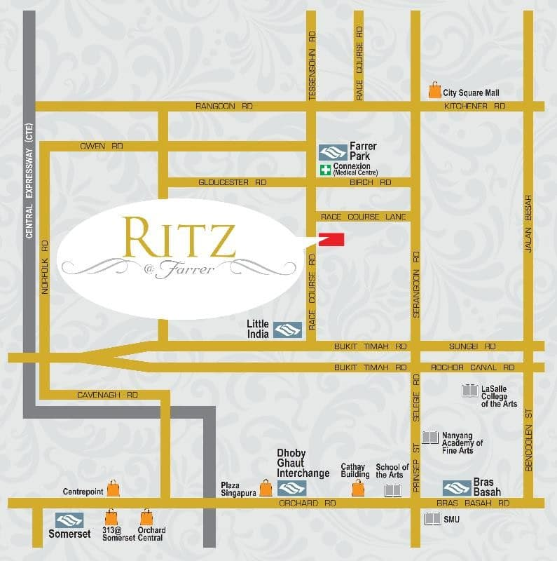 Ritz @ Farrer Location