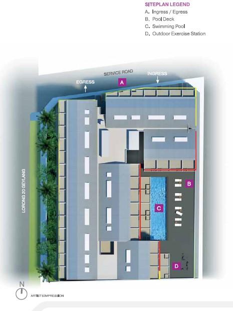 # 1 Suites Site Plan