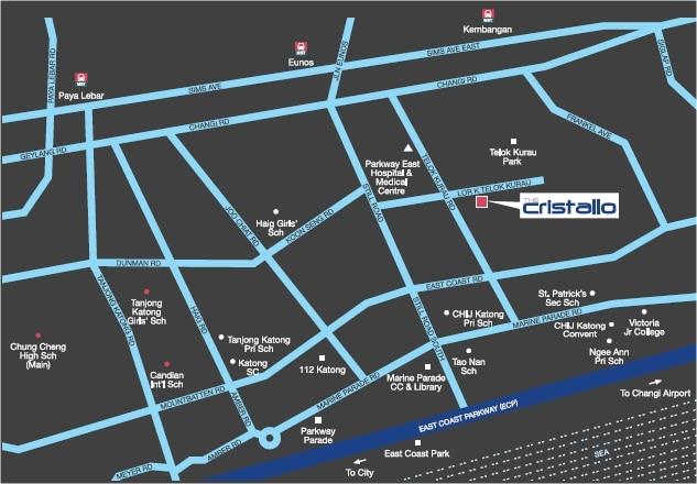 Cristallo Map