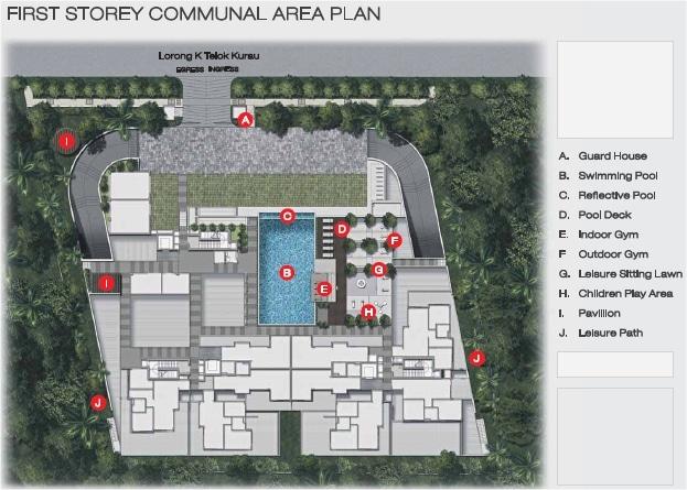 Cristallo Site Plan