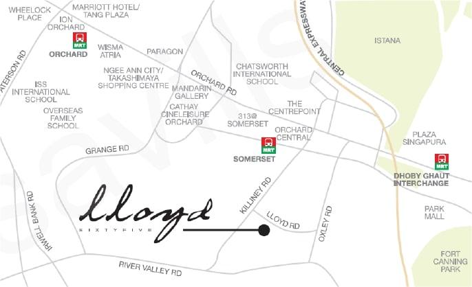 Lloyd 65 Map
