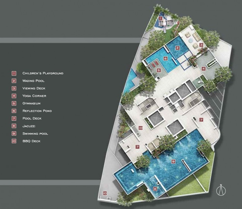 Starlight Suites Site Plan